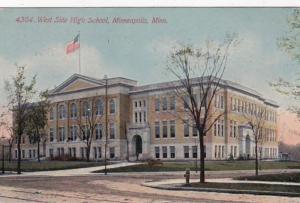 Minnesota Minneapolis West Side High School 1912