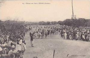 Africa Sudan Course aux Anes a Nioro