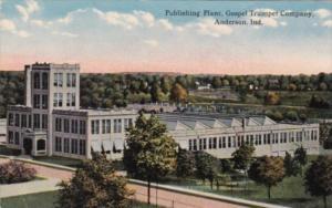 Indiana Anderson Publishing Plant Gospel Trumopet Company Curteich