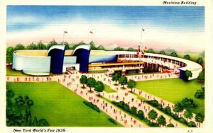 NY - New York City. World's Fair, 1939. Maritime Building