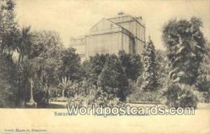 Hannover Germany, Deutschland Postcard Palmenhaus in Herrenhausen  Palmenhaus...