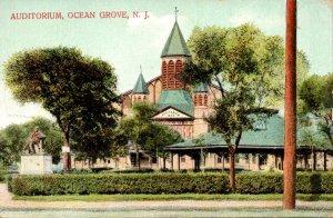 New Jersey Ocean Grove The Auditorium 1909