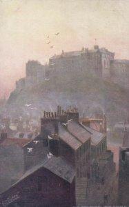 OLD EDINBURGH, England, 1900-10s; The Castle, TUCK #7222