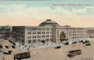 WINNIPEG , Manitoba , 1900-10s ; Union Station