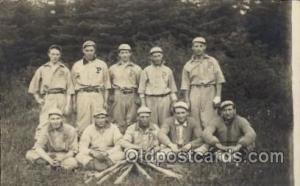 Base Ball Baseball Real Photo Postcards Post Card