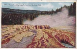 Punch Bowl Springs Yellowstone National Park