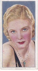 Cigarette Cards Carreras FILM STARS No 16 Jean Muir