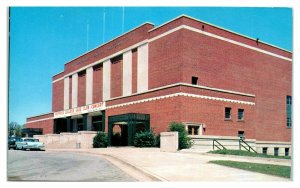 Wofford College Glee Club Banner, Spartanburg Memorial Auditorium, SC Postcard