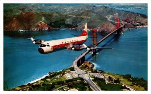 Western Airlines , Electra , Airplane