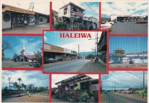 Hawaii Oahu Haleiwa Various Town Views