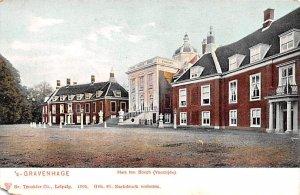 Huis ten Bosch Voorzijde Gravenhage Holland Unused