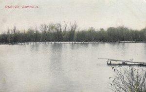 HAMPTON , Iowa , 00-10s ; Beeds Lake