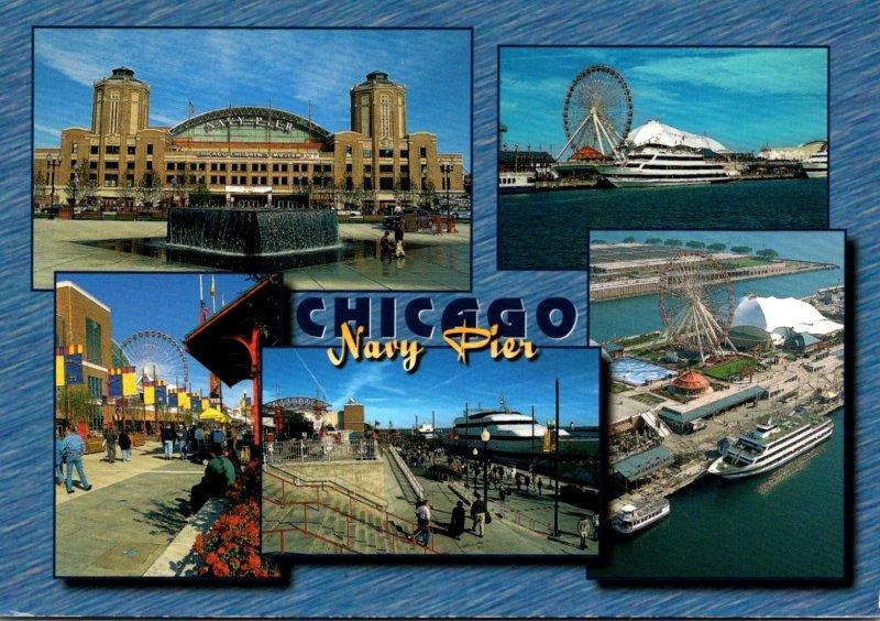 Illinois Chicago Navy Pier Multi View