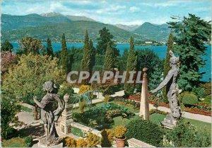 Postcard Modern Lake Maggiore Isola Bella gardens