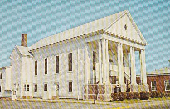 Maryland Pocomoke City Bethany Methodist Church