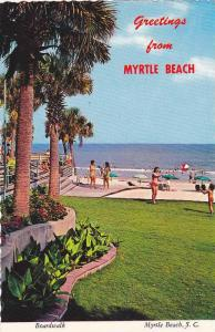 Swimming Pool, Having Fun on the Boardwalk, Greetings From Myrtle Beach, Sout...