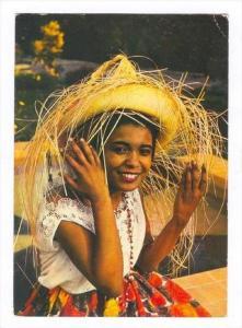 Girl, Invitation Antillaise, Guadeloupe, PU-1977