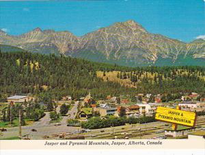 Canada Jasper and Pyramid Mountain Jasper Alberta