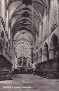 RP, Interieur Groote Kerk, Dordrecht (South Holland), Netherlands, 1920-1940s