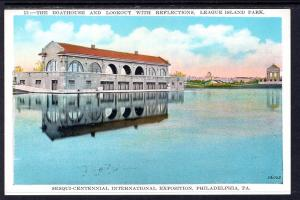 Boathouse,League Island Park,Philadelphia,PA Sesqui-Centennial Exposition