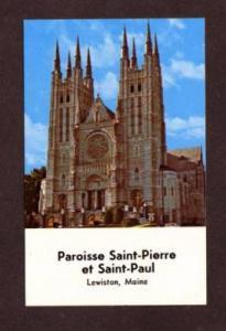 ME St Pierre Saint Paul Catholic Church LEWISTON MAINE