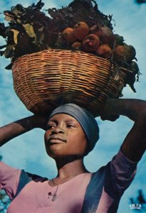 HAITI , 1950-70s ; Young Girl