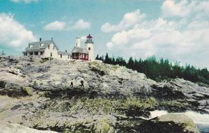 Lighthouse , Pemaquid , Maine , 40-60s