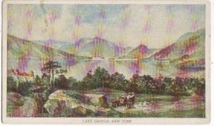 Lake George NY 1907 - Compliments Prudential Ins Co