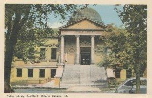 BRANTFORD , Ontario , 1930s; Public Library, version 5