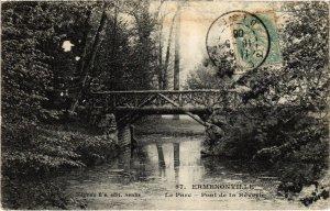 CPA Ermenonville- Le Parc, Pont de la Reverie FRANCE (1020495)