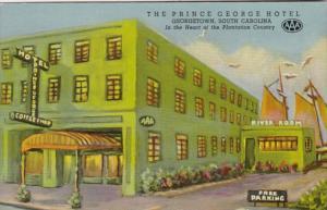 South Carolina Georgetown The Prince George Hotel Curteich