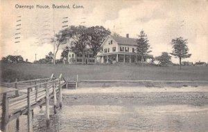 Branford Connecticut Owenego House Vintage Postcard AA25072