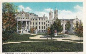 Near BARDSTOWN, Kentucky, 1900-10s; Church & Covent, Nazareth Academy