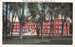 Mexico Missouri~Hardin College Richardson Hall~Postcard 1950s