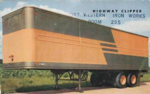 Highway Clipper Trailer, Northwestern Iron Works, 40-60s
