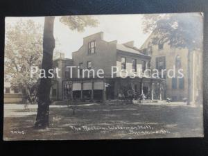 c1909 RPPC - The Rectory, Waterman Hall, Sycamore, Illinois