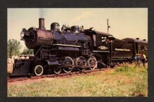 MN Northern Pacific Railroad Train Locomotive 328 NEW BRIGHTON MINNESOTA PC