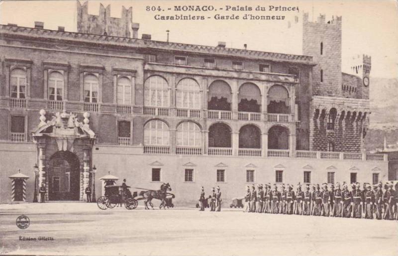 Palais Du Princes Carabiniers, Garde d'Honneur, Monaco, 1900-1910s