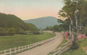 RUTLAND , Vermont , 1910s ; Highway approaching Long Trail Lodge