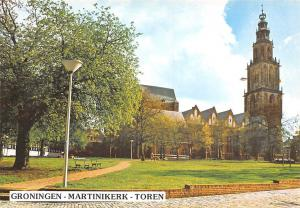 Netherlands Groningen Martinikerk Toren Church