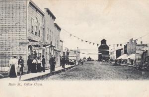 YELLOW GRASS , Sask. , Canada , 1900-10s ; Main Street #3