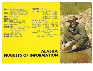 Alaska Nuggets of Information 49th State Alaska Joe Card 4 by 6