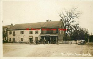 PA, White Deer, Pennsylvania, RPPC, Leinbach General Store Post Office, Photo