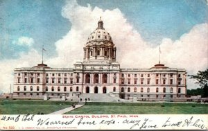 Minnesota St Paul State Capitol Building 1906