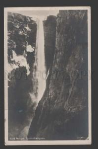 114712 Norge TYSSESTRENGENE Norway Waterfall Vintage PC