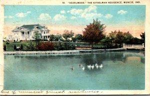 Indiana Muncie Hazelwood The Kitselman Residence 1923 Curteich