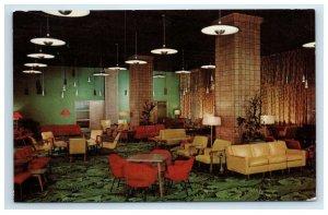 YMCA Hotel Chicago IL Wabash Avenue Postcard Interior Inside View