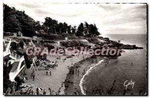 Postcard Ancient Pornic Beach of Biroch?re