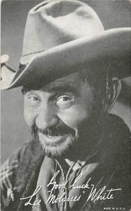 Lee Molasses White Western Actor Mutoscope Unused