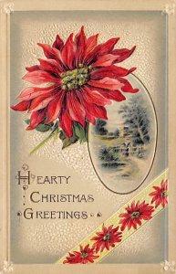 John Winsch Publishing Christmas Unused paper wear on back, light paper glued...
